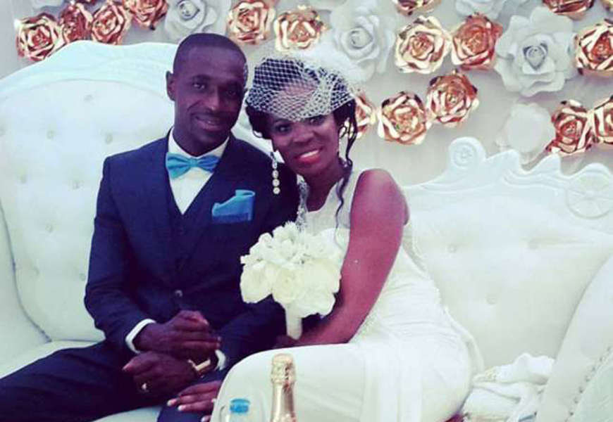 A host of Ghanaian musicians perform at Ohemaa Woyeje's wedding