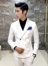 Double-Breasted-Suit-Tuxedo-For-Mens-2-Piece-Suits-With-Pants-Slim-Fit-Latest-Design-Chinese-1